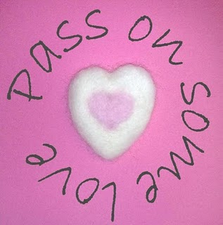 Pass on some love logo